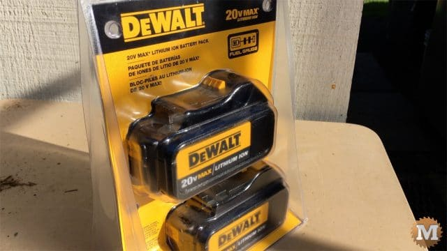 20V DeWalt batteries
