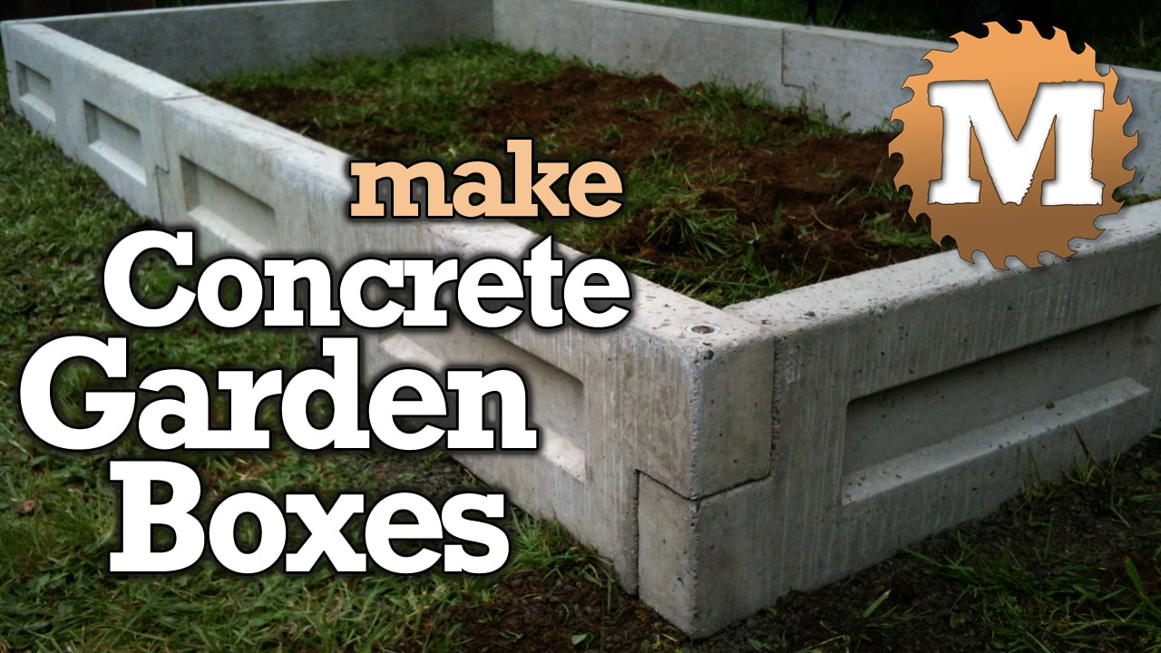 YouTube Thumbnail Concrete Panel