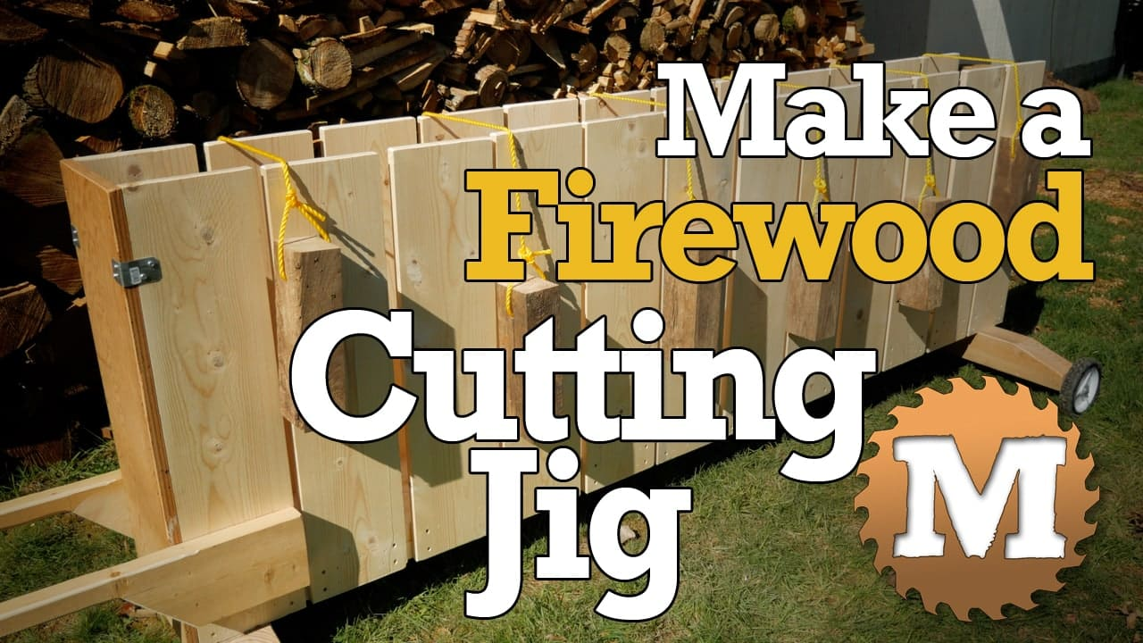 Build a Firewood Cutting Jig