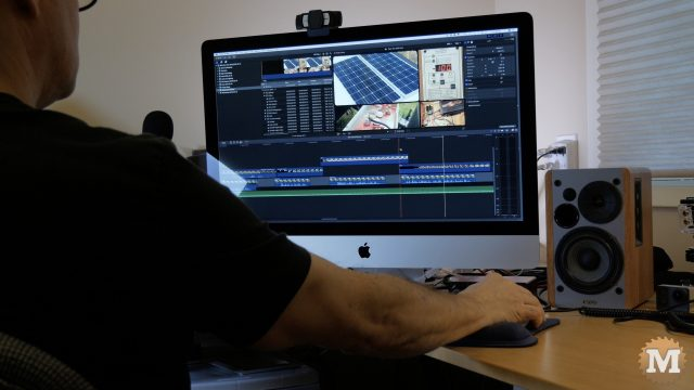 editing with iMac fcpx