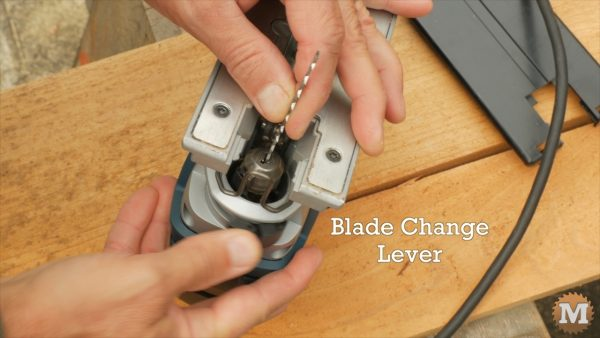 No tool required to change blades - Bosch Jigsaw Review
