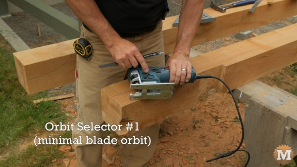 Orbit selector setting - Bosch Jigsaws