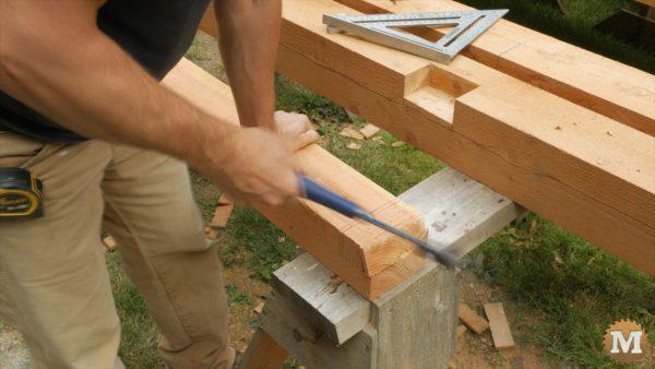 Make a cross brace test-fit piece - break off segments with hammer