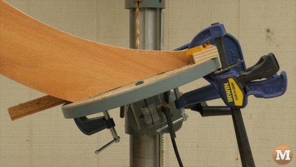 tilt drill press table 20 degrees