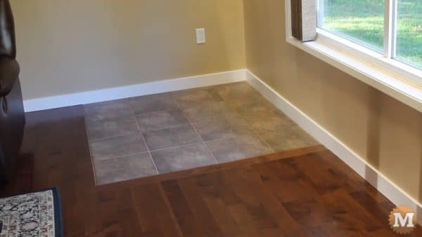 Ceramic Tiles to support new wood stove