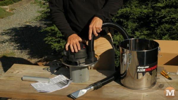 Durable hose - Ash Vacuum test