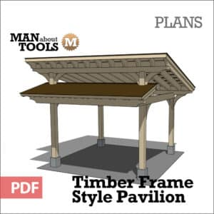 Timber Frame Pavilion woo1