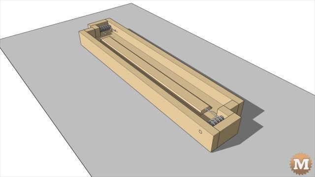 animation of parts for the concrete raised garden beds forms