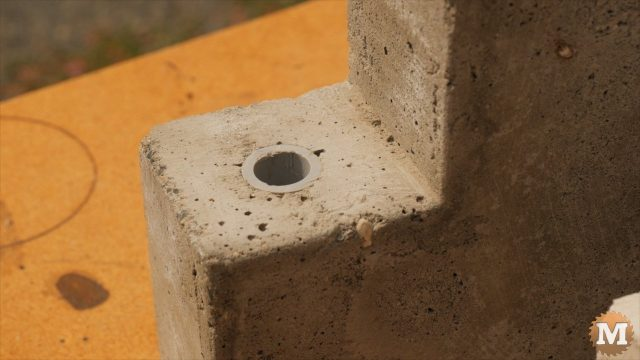 Portland cement based panels need to be thicker due to pipes cast in