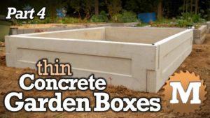 thin CSA Concrete Garden Box Plans - MAN about TOOLS