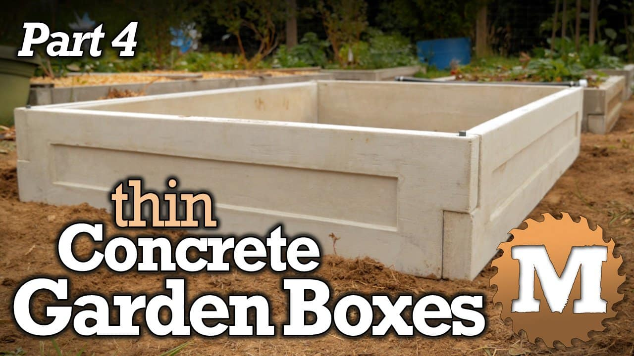 thin CSA Concrete Garden Boxes