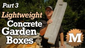 YouTube Thumbnail Lightweight Concrete V1 - MAN about TOOLS