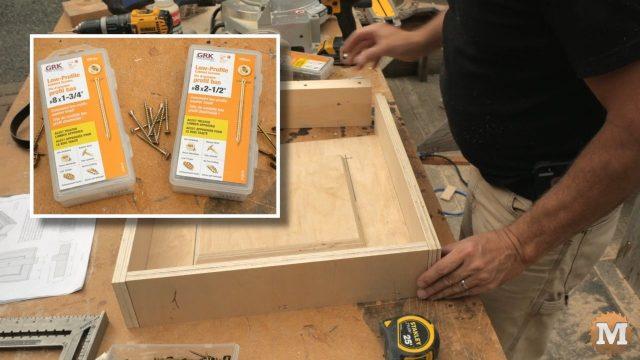 Screws for assembling concrete form