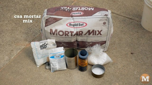 Ingredients for Concrete Mix