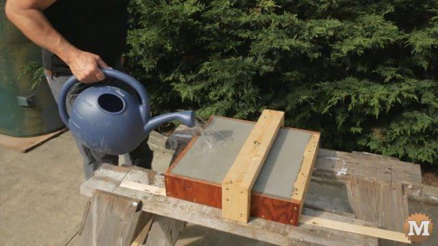 Water curing Mortar Mix