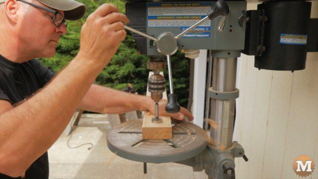 Drilling stretcher