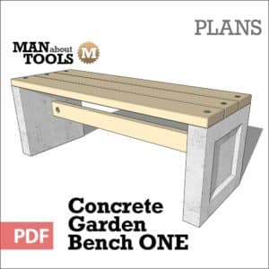 Concrete Bench One woo1