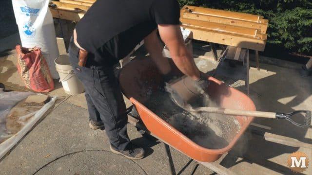 Adding portland cement