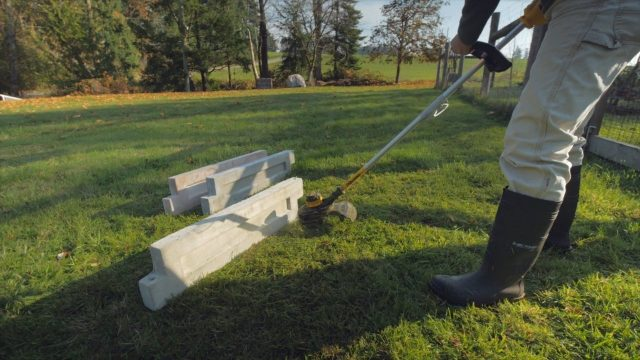 Line trimmer (weed eater) durability test