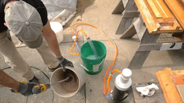 Blending foam to make CSA aircrete