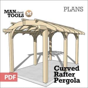 Curved Pergola Plans