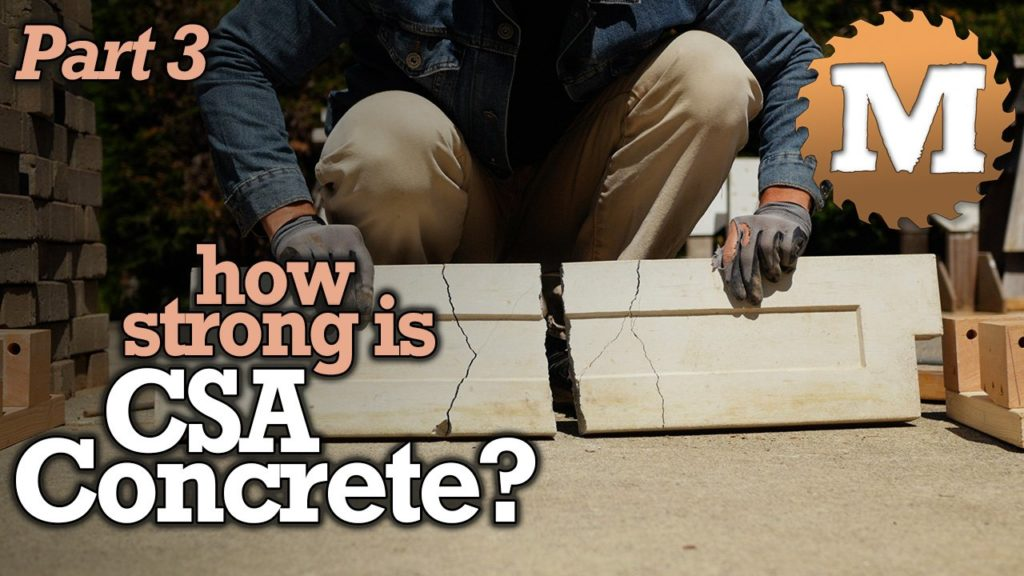 How Strong is CSA Concrete - MAN about TOOLS