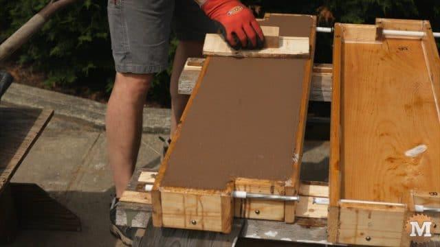 DIY Concrete Wooden Trowel