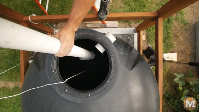 OFF GRID Rainwater Harvesting System Part 3 .12453