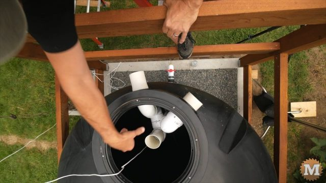 OFF GRID Rainwater Harvesting System Part 3 .16265