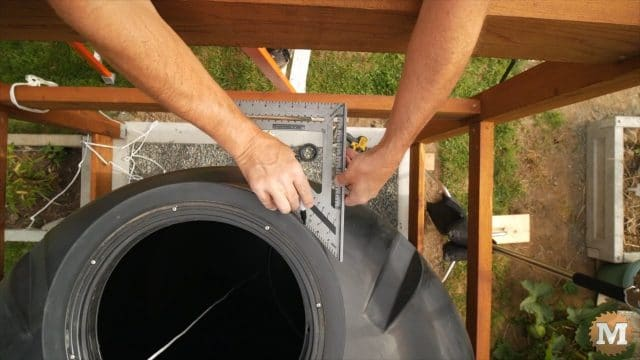OFF GRID Rainwater Harvesting System Part 3 .9304