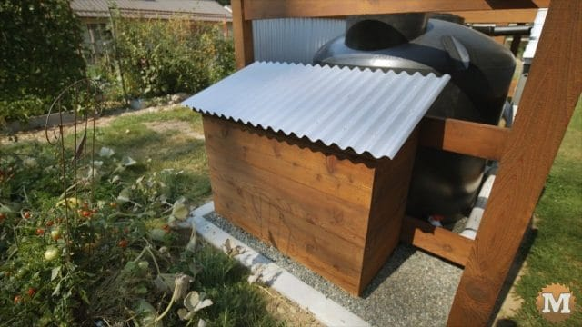 OFF GRID Rainwater Tank Part 2 .1470