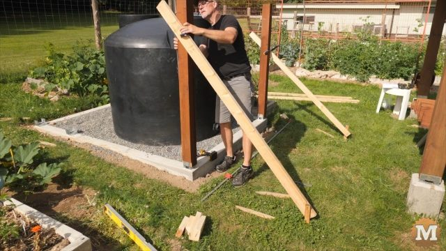 OFF GRID Rainwater Tank Part 2 .6880