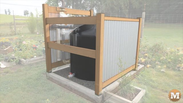 OFF GRID Rainwater Tank Part 2 .727