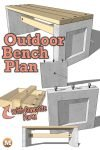 DIY Concrete Garden Bench Plan