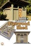 Timber Frame Firewood Shed Pinterest 3