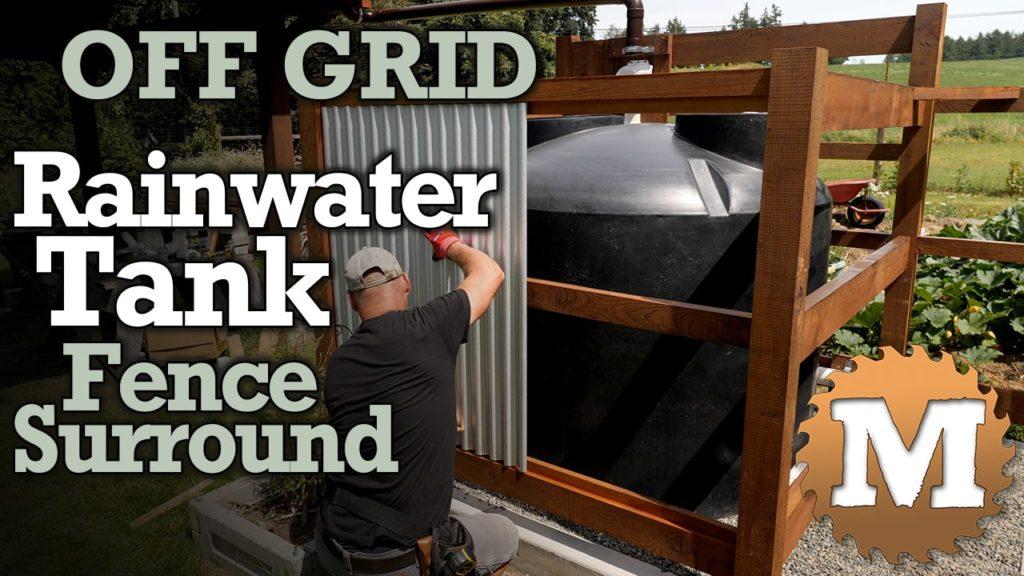 Off Grid Rainwater Harvesting tank Part 2 V2